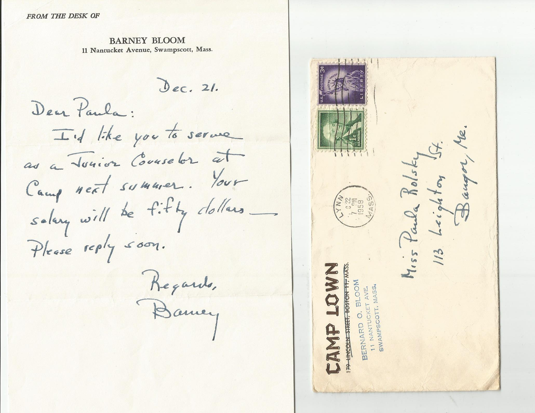 Documenting Maine Jewry - Index to Pictures and Documents